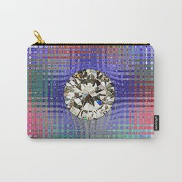 Diamond in Multi-Coulors Carry-All Pouch