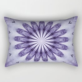 Bloomin' Purple Rectangular Pillow