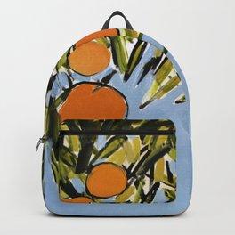 Orange Grove (Blue) Backpack