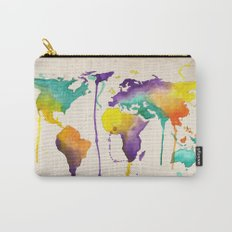 World Splash Carry-All Pouch