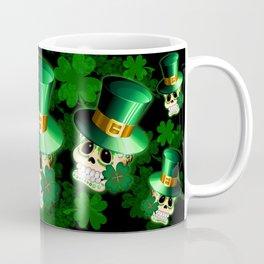 St Patrick Skull Cartoon  Coffee Mug
