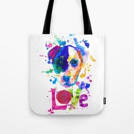 Doggy - love Tote Bag