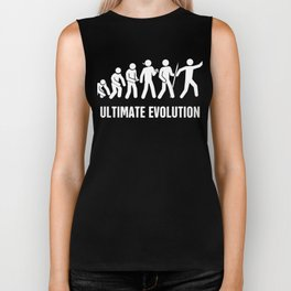 Ultimate Frisbee Evolution Biker Tank