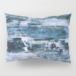 Trick or treat, dirty blue Pillow Sham
