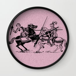 Tourney medieval  Wall Clock
