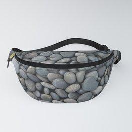Gray pebbles Fanny Pack
