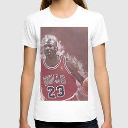 basketball player art 9 T-shirt