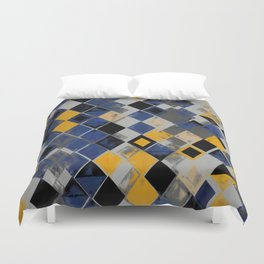 Abstract Composition 390 Duvet Cover