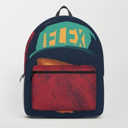 logic (Rapper) Face Illustration Backpack