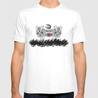 The Sign of Jonah White Mens Fitted Tee MEDIUM