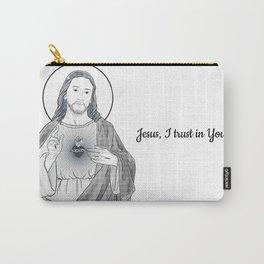 Sacred Heart of Jesus - Sagrado Coração de Jesus Carry-All Pouch