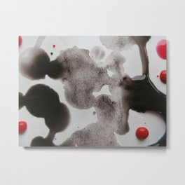 Paint Blots 5 Metal Print