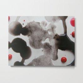 Paint Blots 5 Metal Print