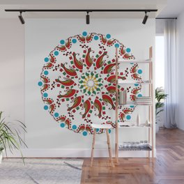 Hand drawn Mandala design Wall Mural