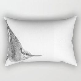 Friendly Nuthatch Rectangular Pillow