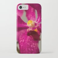 orchid iPhone & iPod Cases featuring Orchid by Michelle McConnell