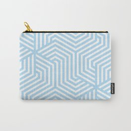 Uranian blue - heavenly - Minimal Vector Seamless Pattern Carry-All Pouch