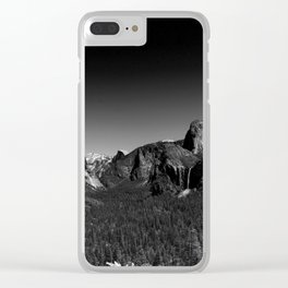Yosemite Valley View Clear iPhone Case