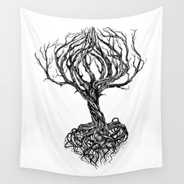 Old tree Wall Tapestry