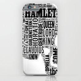 Shakespeare's Hamlet Skull iPhone Case