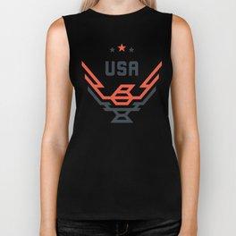 USA Bird Biker Tank