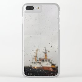 Drab Day Clear iPhone Case