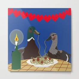 Dinner for two Metal Print