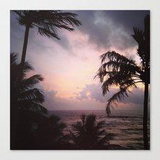 Sri Lanka sunset Canvas Print