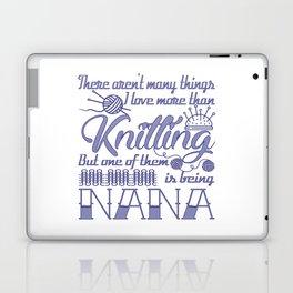 Knitting Nana Laptop & iPad Skin