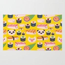 Kawaii sushi sushi Rug