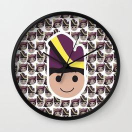 Iconic Headdresses - West Sumatra (Male Version) Wall Clock