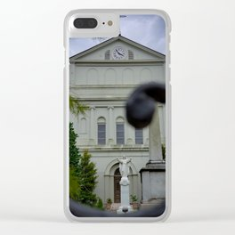 Salvation Isn't Always Where You'd Expect It Clear iPhone Case