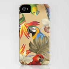 Birdland print Slim Case iPhone (4, 4s)