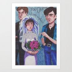 Love Action Art Print
