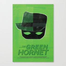 The Green Hornet Canvas Print