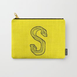 S Sketch Carry-All Pouch