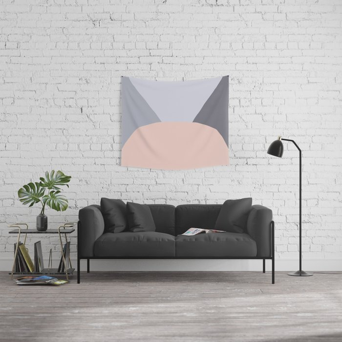 Deyoung Pale Dogwood Wall Tapestry