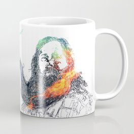 Richard Stallman and his Magnificent Beard, no. 2 Coffee Mug