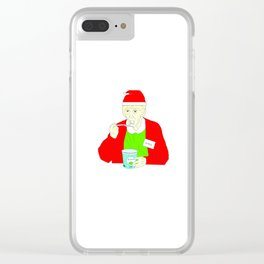 Christmas Garol - Broad City Clear iPhone Case