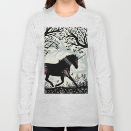 Folk Unicorn Long Sleeve T-shirt