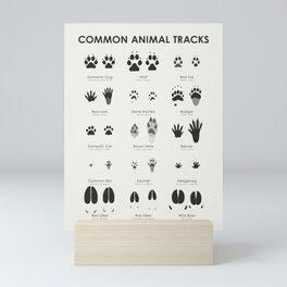 Animal Tracks (Hidden Tracks) Mini Art Print