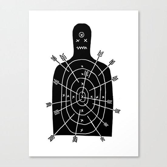 arch arrow Canvas Print