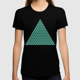Geometric shape t-shirts & prints: Triangle (Tri x Tri) Multiple colours available... T-shirt