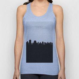 City Skylines: Quebec City Unisex Tank Top
