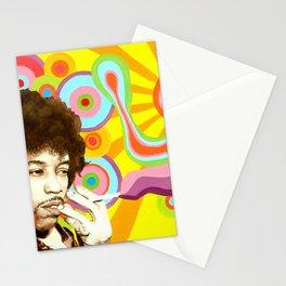 Jimi Hendrix (Peace & Love) Stationery Cards