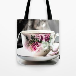 Cup of Tea, Cup of Peace Tote Bag