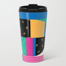 Letter D Metal Travel Mug