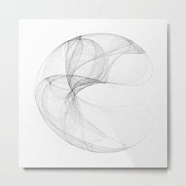 Lorentz attractor Metal Print