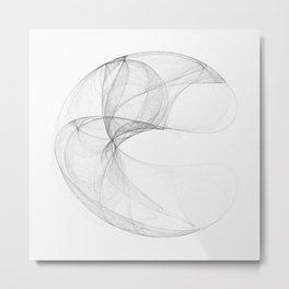 Lorentz attractor Metal Print
