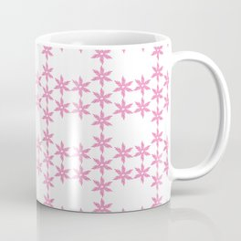 Mini bouquet of dried flowers Arranged in small circles , Design 4 Coffee Mug